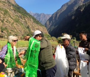 EZ 2018-11-03 d Zeremonie in Lamabagar (11)